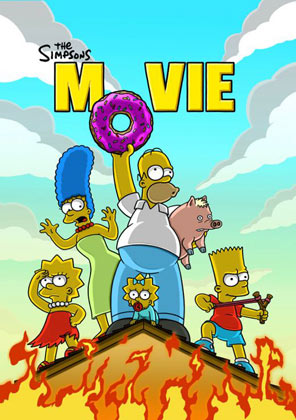 The Simpsons Movie - donuts, anyone?