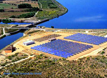 Toledo Solar - Installation began in Feb 1993, completed in May 1994, on schedule & to budget. Production reached 1,270 MWh in 2000. This landmark project was a successful field demonstration of PV and European institutional cooperation