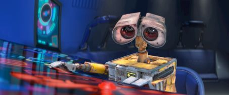Wall-E doesn't say much but he tells a beautiful story.