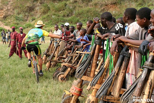 Wooden Bike Racing in Rwanda