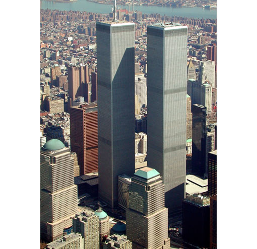 World Trade Center, United States, 1972 - 2001 (1,727 ft - 526.3 m)