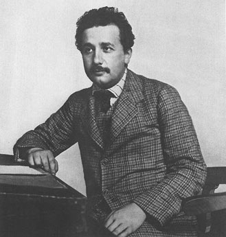 Young Albert Einstein