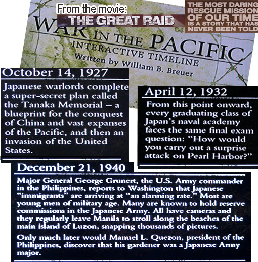 WWII Oct 1927: Japanese warlords complete secret blueprint for conquest of China, Pacific, then invasion of US