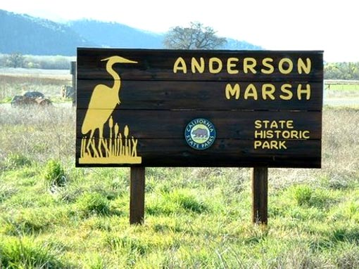 Among 220 state parks the governor proposes to close, Anderson Marsh Park is a California State Historic Park