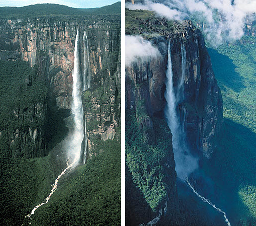 Angel Falls, the world's tallest waterfall, Venezuela