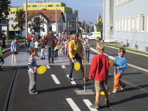 car-free week, Graz, Austria