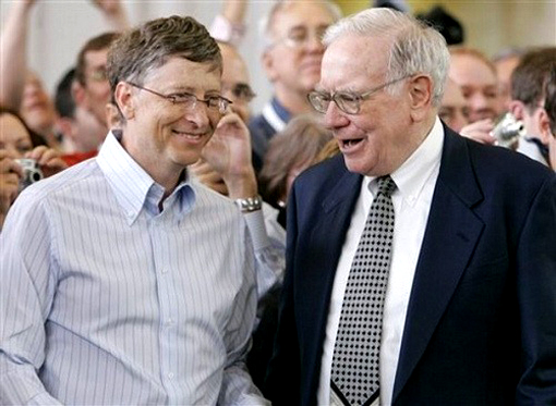 The Giving Pledge is the effort of Warren Buffett and Bill Gates to encourage billionaires to commit to giving away at least half their wealth.