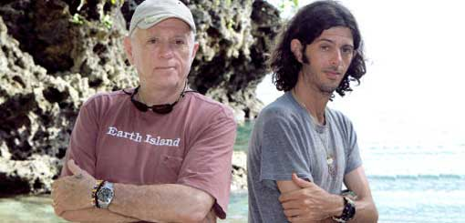 Father-and-son-team Ric and Lincoln O'Barry crusade to end dolphin trade / slaughter.