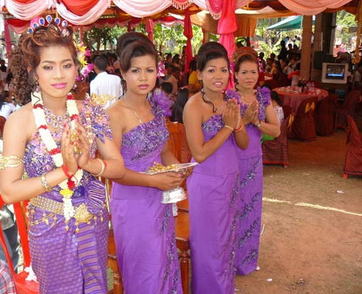 wedding in Cambodia