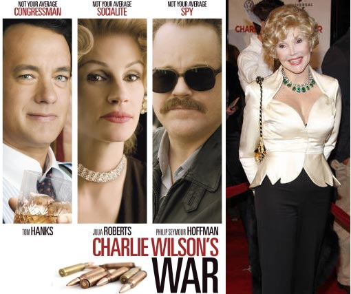 Charlie Wilson's War is a 2007 biographical drama film based on the true story of Democratic Texas Congressman Charlie Wilson