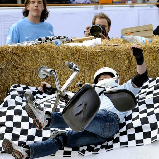 German Championships in Office Chair Racing