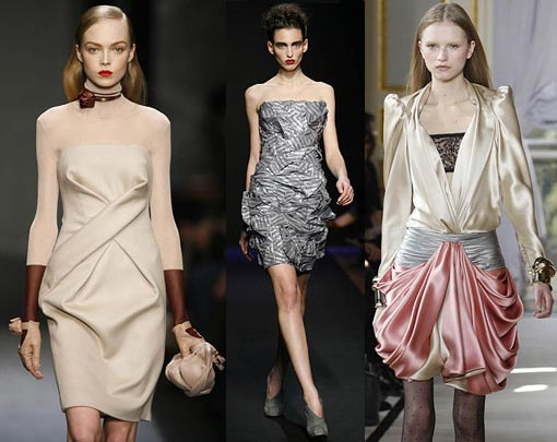 Salvatore Ferragamo, Costume National, Balenciaga - Herbst/Winter-Show 2009/10