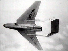 the de Havilland 110 had just exceeded the speed of sound