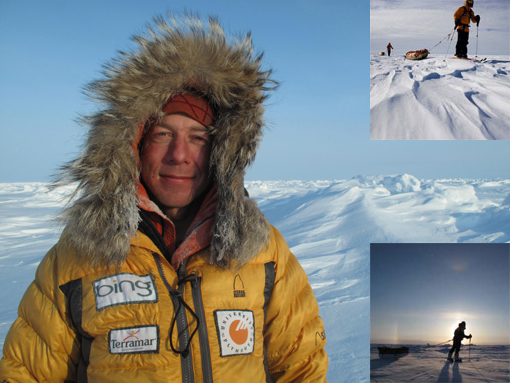 modern-day explorer and expedition guide Eric Larsen