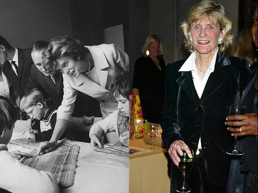 Left: Eunice Kennedy Shriver, 1921-2009: motivated in part by the tragedy that befell her sister Rosemary, Eunice devoted her life to helping children with developmental disabilities. She used her powerful connections to found and develop the Special Olympics, which grew from a competition that hosted 1,000 athletes to a worldwide network that services 3 million people in more than 180 countries. Right: Probably the most reclusive child in the family, Jean founded Very Special Arts, a nonprofit organization that promotes the artistic talents of mentally and physically challenged children. She was later appointed U.S. ambassador to Ireland by President Bill Clinton.