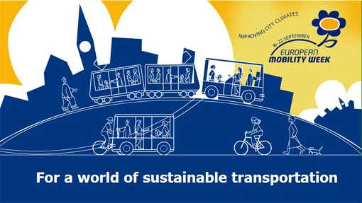European Mobility Week: opportunity for European cities and towns to participate to the most widespread event on sustainable mobility