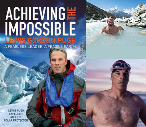 Lewis Gordon Pugh is preparing for a 1km swim below summit of Mt Everest