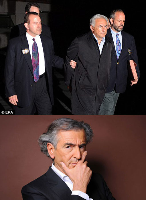 Bernard-Henri Lévy defends friend Dominique Strauss-Kahn who was arrested by New York City Police for allegedly sexually attacking a hotel maid