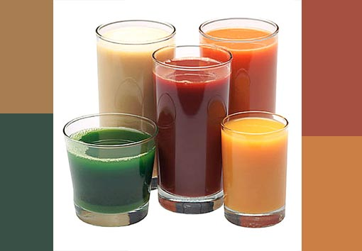 Researches state that fresh fruit and vegetable juices provide vitamins, minerals, enzymes in abundance. They contain antioxidants which has excellent health benefits.