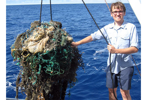 It all started with a piece in the Independent in February about a trash vortex in the ocean, now known as the Great Pacific Garbage Patch. VBS.tv had to see it with their own eyes, so they sailed for two days in the Pacific before reaching their destination. But it wasn't like they expected: 'What people don't get is that it's not really a patch and it's not really an island, both of which you might be able to contain and control. No, what we found is much worse. It's like a gigantic toxic stew and it's a big problem that we need to pay attention to now.'
