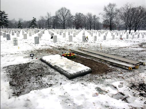 Grave Section 60 of Arlington National Cemetery is reserved for casualties of the wars in Afghanistan and Iraq.