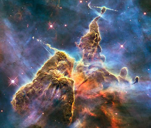 Hubble's Mystic Mountain