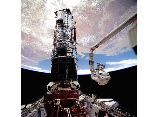 Brief History of Hubble Space Telescope - undergoing final ...