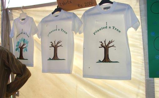 T-shirts: I planted a tree