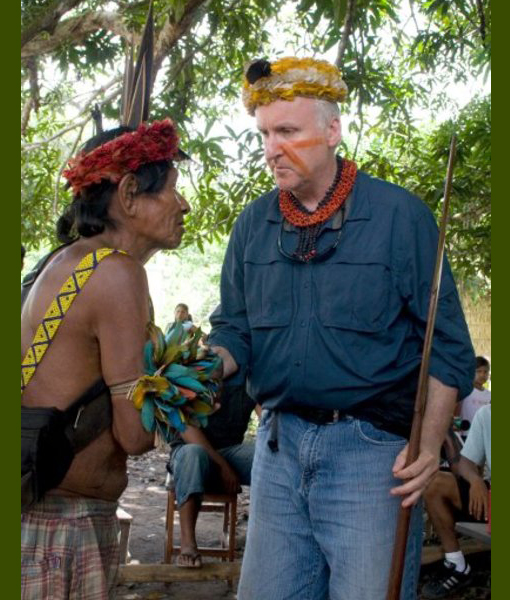 James Cameron and Sigourney Weaver played a part in halting an industrial development project that threatens indigenous people of the Amazon