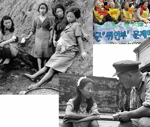 "surviving WWII 'comfort women' in Japanese Army's ""comfort battalions"""