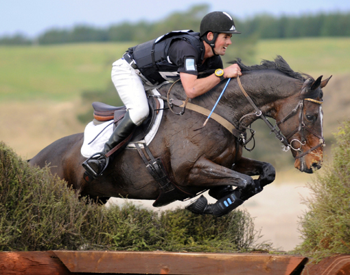 Jonathan Paget, rider from New Zealand