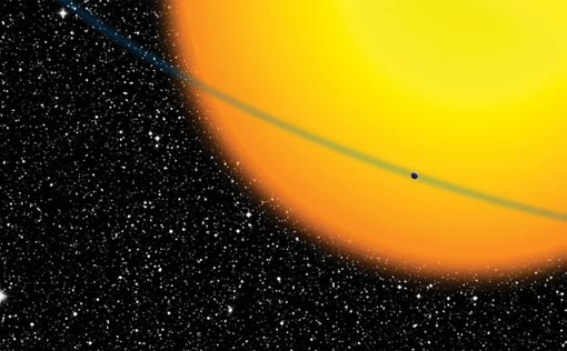 Kepler will detect alien worlds by measuring the minuscule dimming of a star's light that occurs when a planet passes in front of it