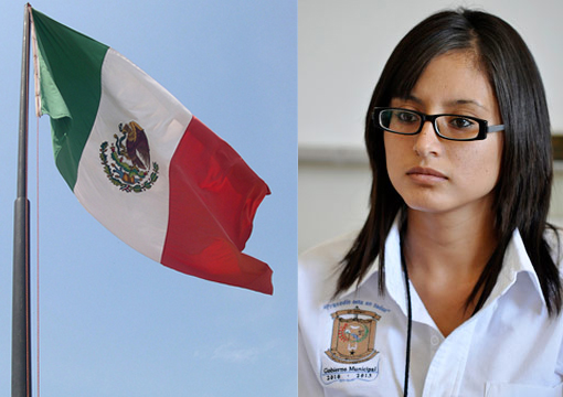 20-year-old swears in as new police chief of the border town of Praxedis G. Guerrero, near Ciudad Juarez, Mexico