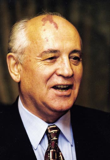 Mikhail Sergeyevich Gorbachev, one of the leading statesmen of our time, was awarded the Nobel Peace Prize in 1990