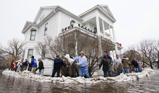 2009 Minnesota flood: Moorhead