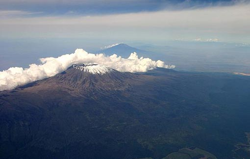 Kilimanjaro, taken from British Airways flight