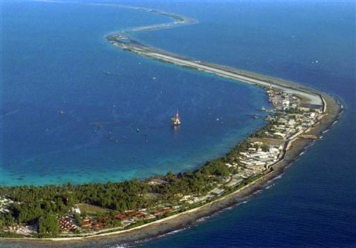 Mururoa Atoll bases, 750 miles southeast of Tahiti, French Polynesia in the Pacific Ocean. The French government offered for the first time Tuesday March 24, 2009 to compensate people who suffered health problems as a result of nuclear tests in Algeria and the South Pacific decades ago