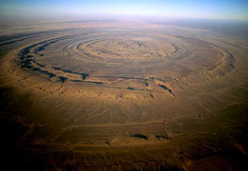 Mysterious Sights: the Richat Structure