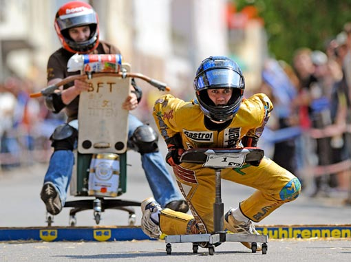 Office Chair Racing Championship in Germany