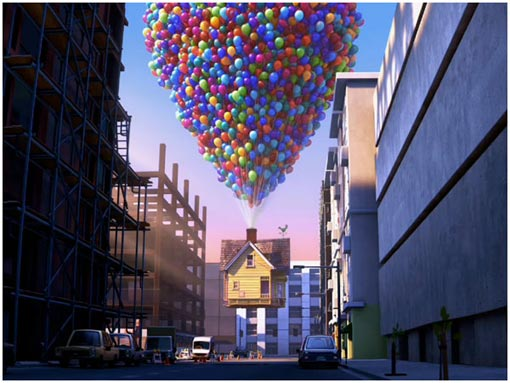 the 10th Pixar feature - Up - is the first animated movie to open the Cannes Film Festival