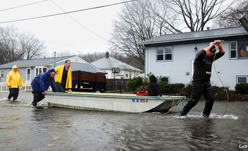 Things were bad enough in Rhode Island. Then the rains came