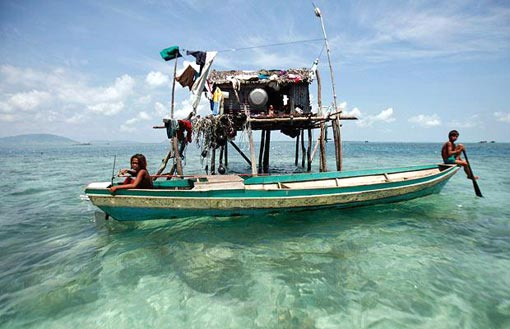 sabah is one of a number of groups collectively known as sea gypsies