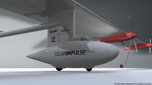Fly around the World with a Solar Powered Airplane