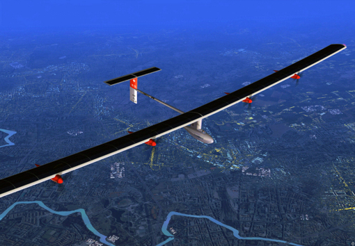 July 8 2010 Solar Impuse - longest solar flight at the highest altitude in aviation history