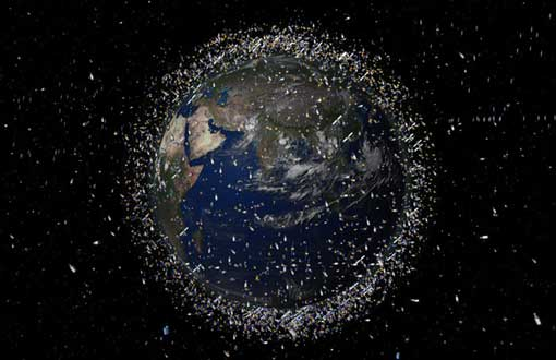 earth orbit is a junkyard