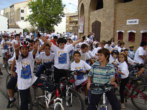 car-free week, Requena, Spain
