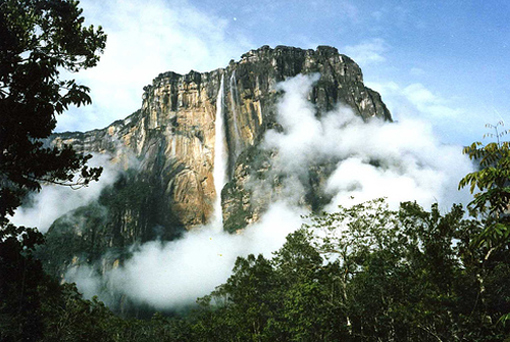 Angel Falls in Canaima National Park