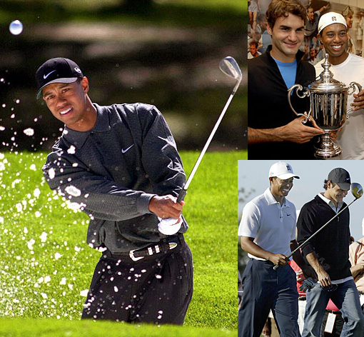 Tiger Woods and Roger Federer: July 6, 2009, the two amazing athletes won again on the same day. Roger Federer won his 6th Wimbledon and 15th Major, while Tiger Woods took the AT&T National for 68th PGA Tour victory.