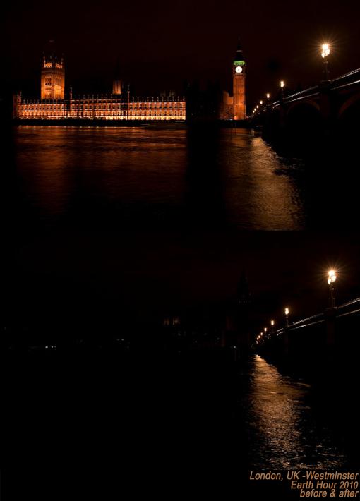London, UK – Westminster Earth