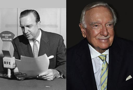 Walter Cronkite passed away after a long illness with his family by his side; he was 92